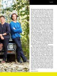 Журнал Entertainment Weekly о Сверхъестественном