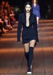 Bella Hadid - DKNY Fashion Show Runway in NYC 9/12/16