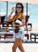 Kourtney Kardashian - Wearing a swimsuit at the beach in Miami 9/14/16