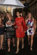 Nina Dobrev - Marchesa Fashion Show in NYC 9/14/16