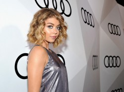 Sarah Hyland attends the Audi Celebrates The 68th Emmys 9/15/16