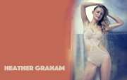 Heather Graham : Hot Wallpapers x 25  44c93c505352532