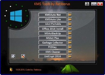 KMS Tools Portable 19-09-2016 by Ratiborus (MULTI/RUS)