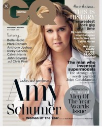Amy Schumer - British GQ Magazine October 2016