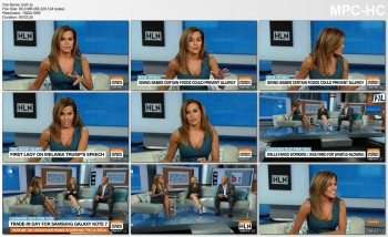 Robin Meade *CLEAVAGE* - 9.21.2016