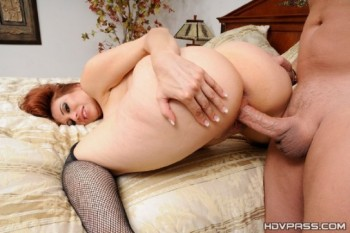 Sheila Marie - Redhead with Perfect Ass Rides Cock (2014) 720p