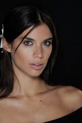 Sara Sampaio - Francesco Scognamiglio Fashion Show in Milan 9/21/16