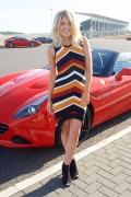 Mollie King -              Ferrari California T Experience Day Silverstone Stowe Circuit (UK) September 23rd 2016.