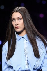 Bella Hadid - Versace Fashion Show in Milan 9/23/16