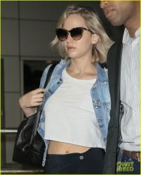 Jennifer Lawrence - At JFK Airport 9/23/16