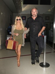 Jessica Simpson at LAX Airport in Los Angeles - 9/26/16