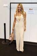 Michelle Hunziker -               Trussardi Fashion Show Milan September 25th 2016.