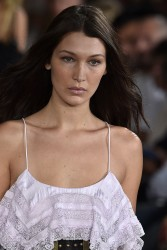 Bella Hadid - Philosophy Fashion Show in Milan 9/24/16