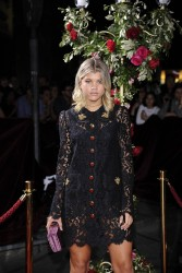 Sofia Richie - Dolce & Gabbana Boutique Opening in Milan 9/25/16