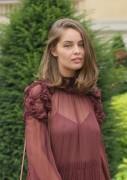Marie Ange Casta -              Chloe Fashion Show Paris September 29th 2016.