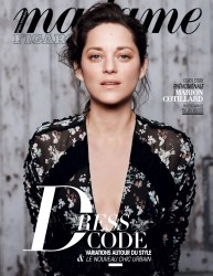 Marion Cotillard -                Madame Figaro Magazine (France) September 2016.