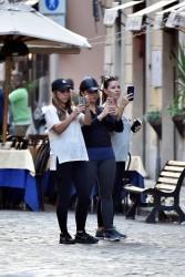 Demi Lovato - Out in Rome 9/30/16