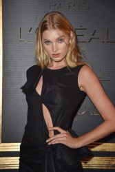 Elsa Hosk - L'Oreal Gold Obsession Party in Paris 10/2/16