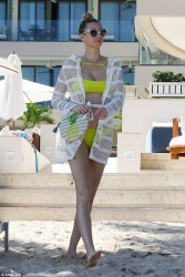 Whitney Port - Bikini Candids in Cancun 10/3/16
