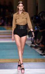 Gigi Hadid - Miu Miu Fashion Show in Paris 10/5/16
