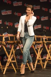 Lauren Cohan - 'The Walking Dead' Panel at the 2016 New York Comic Con 10/8/16