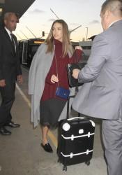 Jessica Alba - At LAX Airport 10/11/16