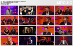 Amy Adams - The Graham Norton Show - 10/14/16 HD720p (Requested)