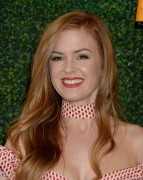 Isla Fisher -           Veuve Clicquot Polo Classic Pacific Palisades October 15th 2016.