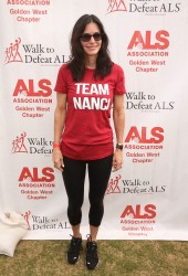 Courteney Cox - The ALS Association Golden West Chapter Los Angeles County Walk to Defeat ALS 10/16/16