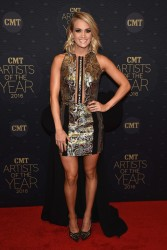 Carrie Underwood - at CMT Artists of the Year 2016 10/19/16