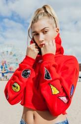 Hailey Baldwin - Kith x Power Rangers Photoshoot