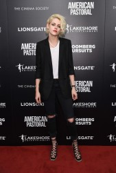Kristen Stewart - 'American Pastoral' Screening in NYC 10/19/16