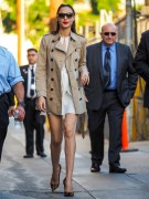 Gal Gadot - Arriving at 'Jimmy Kimmel Live' in Hollywood 10/19/16