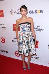 Nina Dobrev - 2016 GLSEN Respect Awards in LA 10/21/16