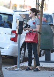 Lucy Hale - Going to Starbucks in LA 10/22/16