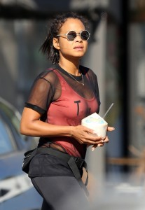 Christina Milian - Running Errands Out in LA (10/22/16)