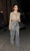 Nicole Scherzinger - Out for dinner in  London 10/23/16