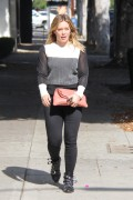 Hilary Duff - Shopping in Beverly Hills 10/26/16