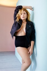 Hayley Hasselhoff - David Schulze Photoshoot For Lane Bryant