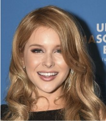 Renee Olstead-UNICEF Masquerade Ball 1/27/2016