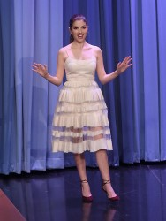 Anna Kendrick - On The Tonight Show in NYC 10/28/16