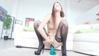 4on1 BBC Roxy Dee. No Pussy /BALL DEEP /GAPES /DAP /FACIAL - This one really likes to fuck! GIO250 (2016) 1080p