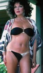 Joan Collins - HOT bikini pic - 1970s