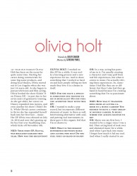 Olivia Holt in NKD Magazine x4 plus x2 text pages