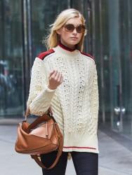 Elsa Hosk - Out in NYC 11/3/16