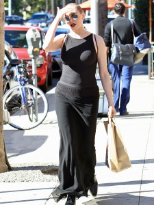Rose McGowan - Out and About in Beverly Hills. (11/3/16)