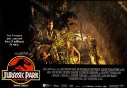 Парк Юрского периода / Jurassic Park (Сэм Нил, Джефф Голдблюм, Лора Дерн, 1993)  B54fc4513356623