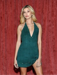 Hailey Baldwin - REVOLVE 2016 Winter Formal Party in LA 11/10/16