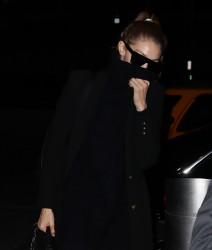 Gigi Hadid - At JFK Airport 11/12/16