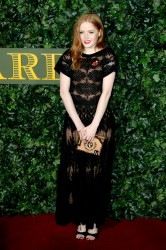 Ellie Bamber -                     London Evening Standard Theatre Awards London November 13th 2016.